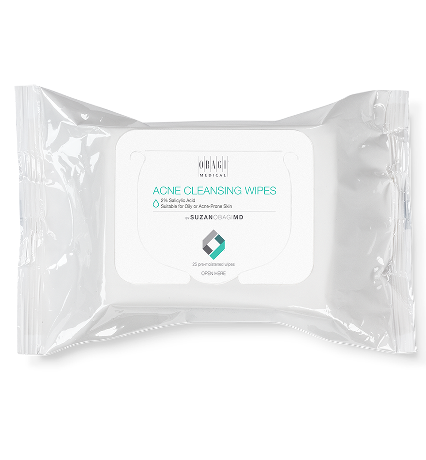 SUZANOBAGIMD™ Acne Cleansing Wipes